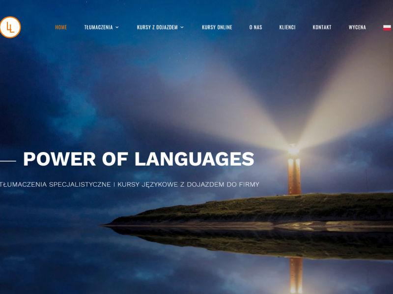 """<p>Strona ofertowa firmy zajmującej się tłumaczeniami i kursami językowymi</p>  <p>Zakres prac: Projekt logo, wdrożenie szablonu do systemu zicoCMS, podpięcie płatności online</p>  <p><a href=""""https://lingualine.pl/"""" target=""""_blank"""">zobacz online</a></p>"""