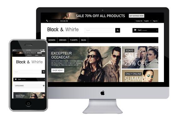 Wykonujemy sklepy internetowe oraz systemy e-commerce na platformach PrestaShop i opencart