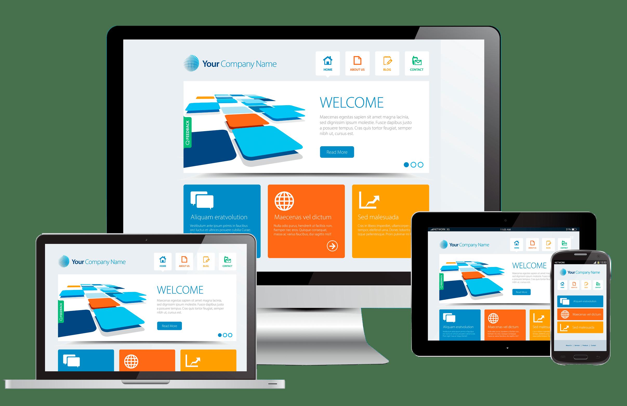 profesjonalna strona internetowa z wykorzystaniem techniki responsive web design